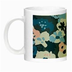 Fabric Wildflower Bluebird Night Luminous Mugs