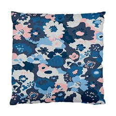 Fabric Wildflower Bluebird Standard Cushion Case (two Sides)