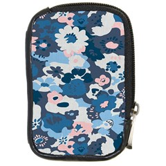 Fabric Wildflower Bluebird Compact Camera Cases