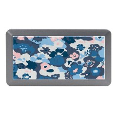Fabric Wildflower Bluebird Memory Card Reader (mini)