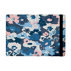 Fabric Wildflower Bluebird Apple iPad Mini Flip Case