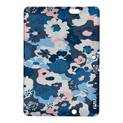 Fabric Wildflower Bluebird Kindle Fire Hdx 8 9  Hardshell Case