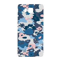 Fabric Wildflower Bluebird Samsung Galaxy Alpha Hardshell Back Case