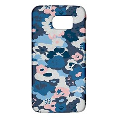 Fabric Wildflower Bluebird Galaxy S6