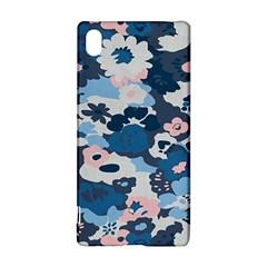 Fabric Wildflower Bluebird Sony Xperia Z3+