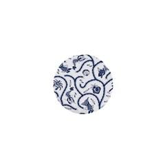 Fish Pattern 1  Mini Buttons
