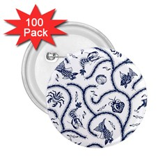 Fish Pattern 2 25  Buttons (100 Pack)