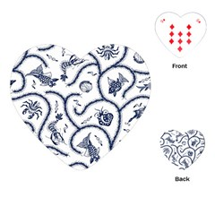Fish Pattern Playing Cards (Heart)