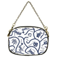 Fish Pattern Chain Purses (two Sides)