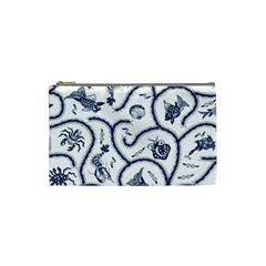 Fish Pattern Cosmetic Bag (small)