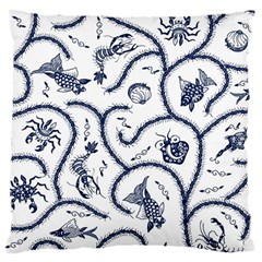 Fish Pattern Large Cushion Case (Two Sides)