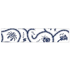 Fish Pattern Flano Scarf (small)