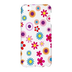 Colorful Floral Flowers Pattern Apple iPod Touch 5 Hardshell Case