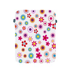 Colorful Floral Flowers Pattern Apple iPad 2/3/4 Protective Soft Cases