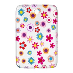 Colorful Floral Flowers Pattern Samsung Galaxy Note 8.0 N5100 Hardshell Case