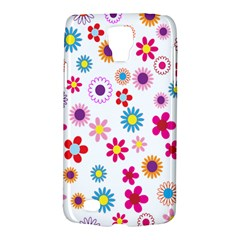 Colorful Floral Flowers Pattern Galaxy S4 Active