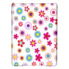 Colorful Floral Flowers Pattern iPad Air Hardshell Cases
