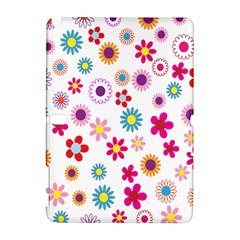 Colorful Floral Flowers Pattern Galaxy Note 1