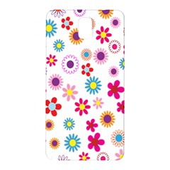 Colorful Floral Flowers Pattern Samsung Galaxy Note 3 N9005 Hardshell Back Case