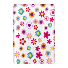 Colorful Floral Flowers Pattern Samsung Galaxy Tab Pro 10.1 Hardshell Case