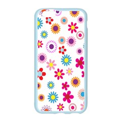 Colorful Floral Flowers Pattern Apple Seamless iPhone 6/6S Case (Color)