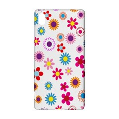 Colorful Floral Flowers Pattern Sony Xperia Z3+