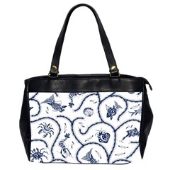 Fish Pattern Office Handbags (2 Sides)
