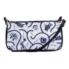 Fish Pattern Shoulder Clutch Bags