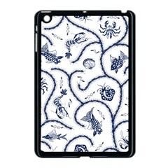 Fish Pattern Apple iPad Mini Case (Black)