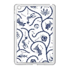 Fish Pattern Apple iPad Mini Case (White)