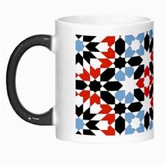 Morrocan Fez Pattern Arabic Geometrical Morph Mugs