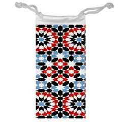 Morrocan Fez Pattern Arabic Geometrical Jewelry Bag