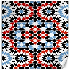 Morrocan Fez Pattern Arabic Geometrical Canvas 12  x 12