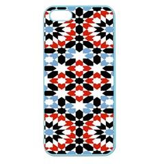 Morrocan Fez Pattern Arabic Geometrical Apple Seamless iPhone 5 Case (Color)