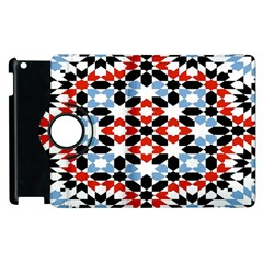 Morrocan Fez Pattern Arabic Geometrical Apple Ipad 2 Flip 360 Case