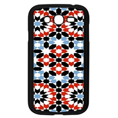 Morrocan Fez Pattern Arabic Geometrical Samsung Galaxy Grand Duos I9082 Case (black)