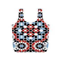 Morrocan Fez Pattern Arabic Geometrical Full Print Recycle Bags (S)