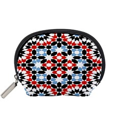 Morrocan Fez Pattern Arabic Geometrical Accessory Pouches (Small)