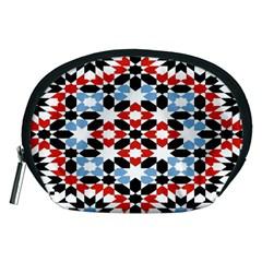 Morrocan Fez Pattern Arabic Geometrical Accessory Pouches (Medium)