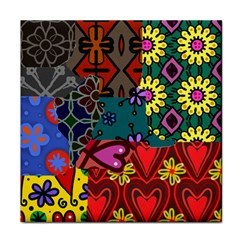 Patchwork Collage Tile Coasters