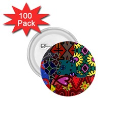 Patchwork Collage 1.75  Buttons (100 pack)