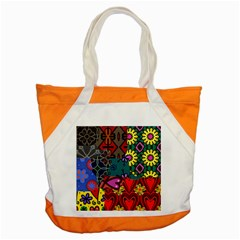 Patchwork Collage Accent Tote Bag