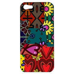 Patchwork Collage Apple iPhone 5 Hardshell Case