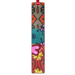 Patchwork Collage Large Book Marks