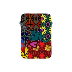 Patchwork Collage Apple iPad Mini Protective Soft Cases