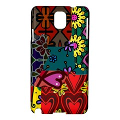 Patchwork Collage Samsung Galaxy Note 3 N9005 Hardshell Case