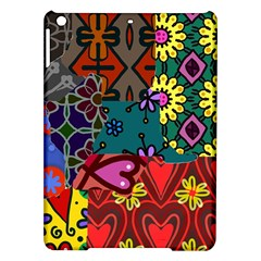 Patchwork Collage Ipad Air Hardshell Cases