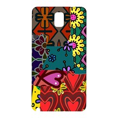 Patchwork Collage Samsung Galaxy Note 3 N9005 Hardshell Back Case