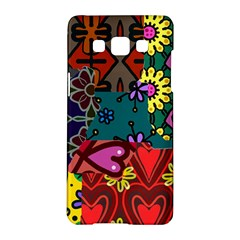 Patchwork Collage Samsung Galaxy A5 Hardshell Case