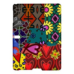 Patchwork Collage Samsung Galaxy Tab S (10.5 ) Hardshell Case